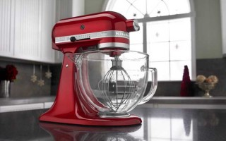 KitchenAid KSM155GB 5-Qt. Artisan Design Series Stand Mixer with Glass Bowl Review | Foodal.com