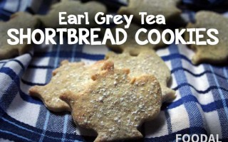 Recipe for Earl Grey Tea Flavored Shortbread Cookies 2