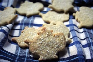 Earl Grey Tea Flavored Shortbread Cookies
