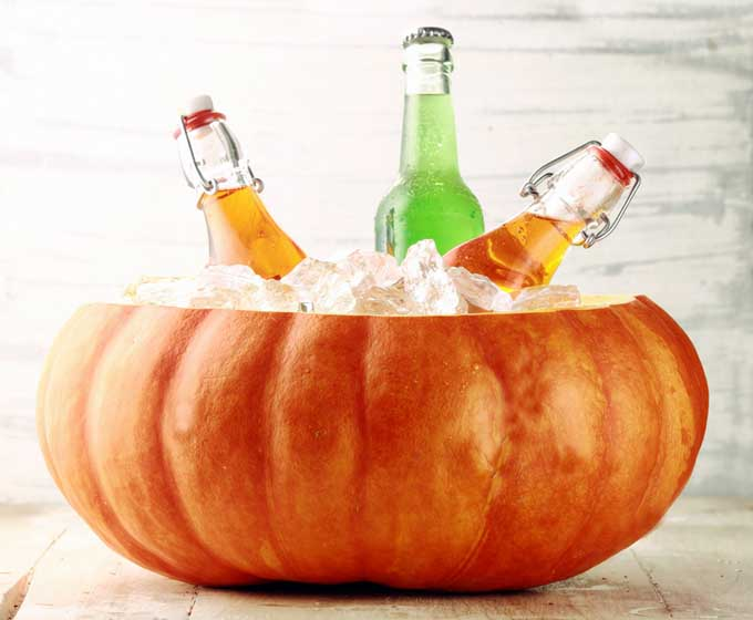 Use a cooler or ice buckets to save refrigerator space during Thanksgiving | Foodal.com