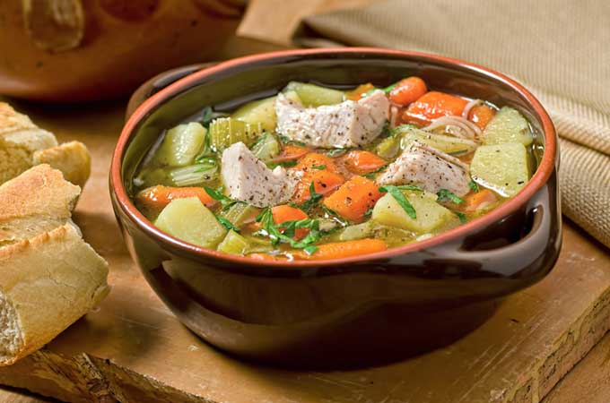 Use your left over turkey in stews and soups | Foodal.com