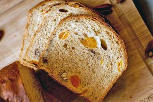 Apricot Pecan Bread (Vegan): Fruit & Nut Goodness with a Touch of Molasses