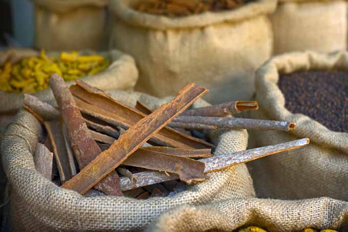 Cinnamon bark in a traditional market | Foodal.com