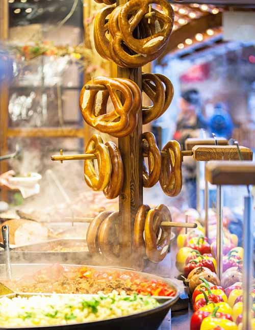 Food at the German Christmas Market | Foodal.com