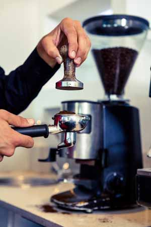 Grinding for espresso | Foodal.com