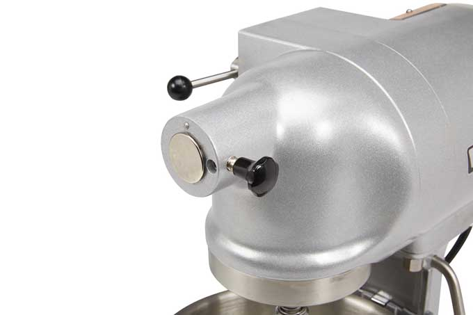 Hobart N50 Commercial Mixer Accessory Attachment Point | Foodal.com