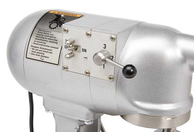 Hobart N50 Commercial Mixer Controls | Foodal.com