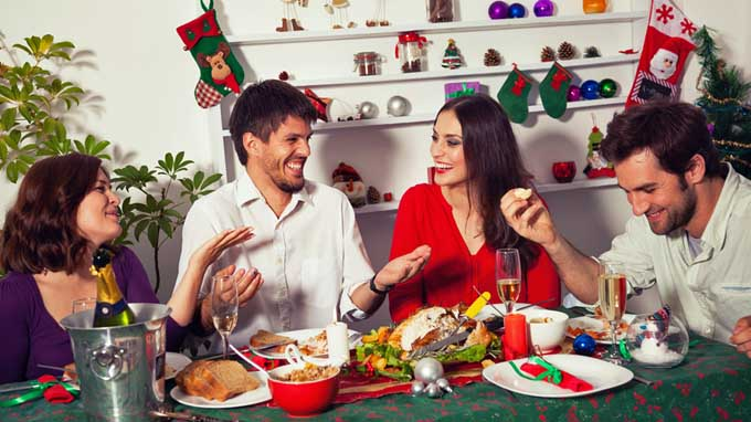 Informal get togethers are a great way to enjoy the holidays | Foodal.com