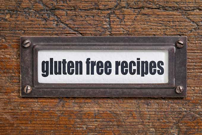 A file cabinet door that is labeled with gluten free recieps | Foodal.com