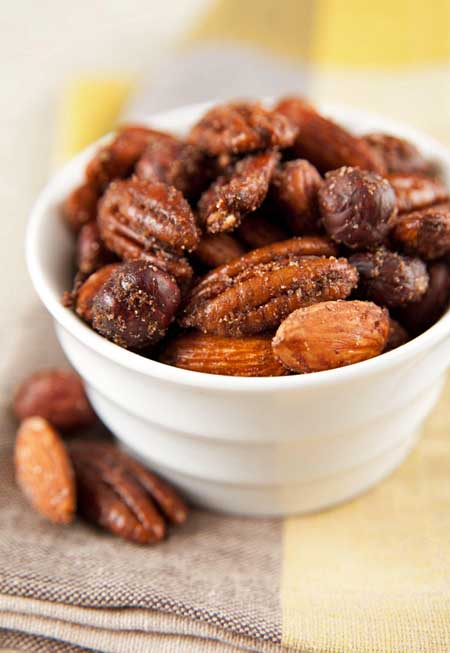 Reciep for Spicy Toasted Nuts | Foodal.com