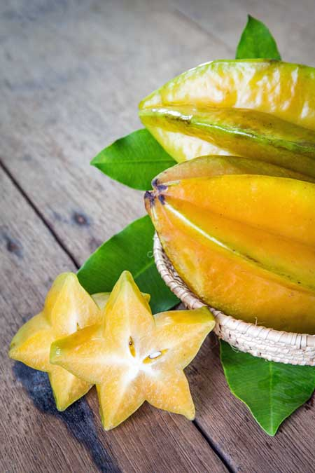 Try new things like star fruit! | Foodal.com