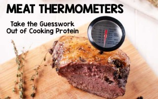 Meat Thermometers - Take the Guesswork Out of Cooking Protein - COVER