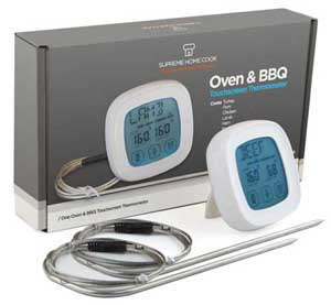 Oven Safe Probe Bbq Thermometer For Beef Meat Touchscreen Digital Thermometer
