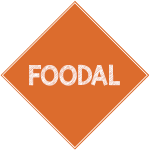 Foodal sign logo