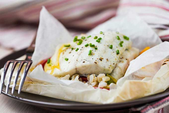 White Fish En Papillote | Foodal.com