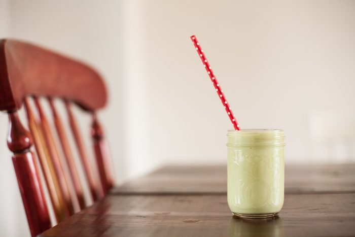 Add this smoothie to the world of them--made with avocado, honey, lime and vanilla, it