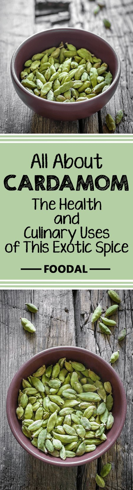 Cardamom is a versatile spice with many uses, both in the kitchen and as part of an herbal medicine cabinet. Discover more about its history, and how to use it in your home – read more now on Foodal. https://foodal.com/knowledge/herbs-spices/cardamom-health-and-culinary-uses/