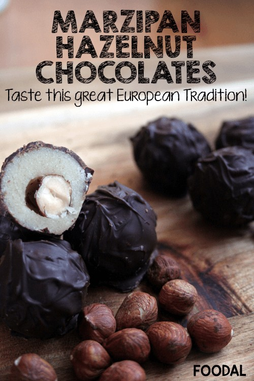 Homemade Marzipan-Hazelnut Chocolates | Foodal.com