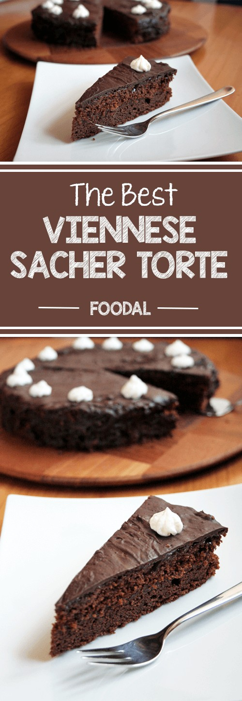 Full of chocolate, full of flavor, full of history: The Viennese Sacher torte has it all. If you're craving a rich and delicious cake, this is the one: pure chocolate with a fruity layer of apricot jam – an irresistible combination. Read on for the recipe. https://foodal.com/recipes/desserts/viennese-sacher-torte/