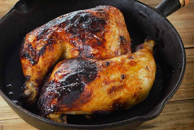 Chicken Browning in Cast Iron | Foodal.com