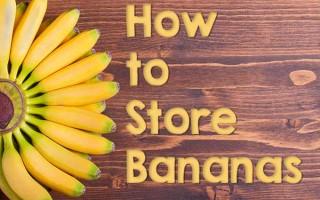 Storing Bananas Made Easy | Foodal.com