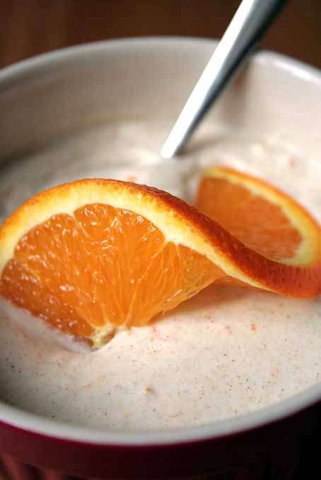 Orange Cinnamon Cream Closeup | Foodal.com