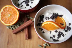 You'll Love This Decadent Orange Cinnamon Cream Dessert Parfait