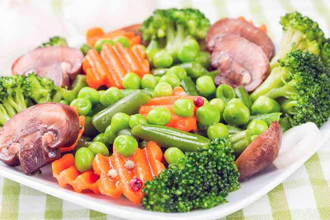 Plate of Steamed Vegetables | Foodal.com