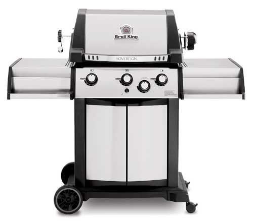 Broil King 987834 Sovereign 70 Grill with Rear Rotisserie Burner and Kit | Foodal.com