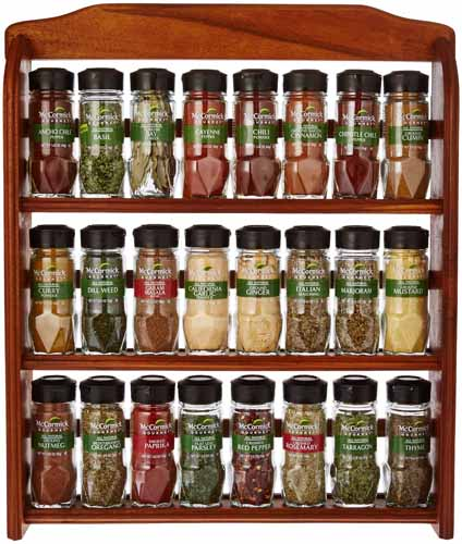 spices with rack