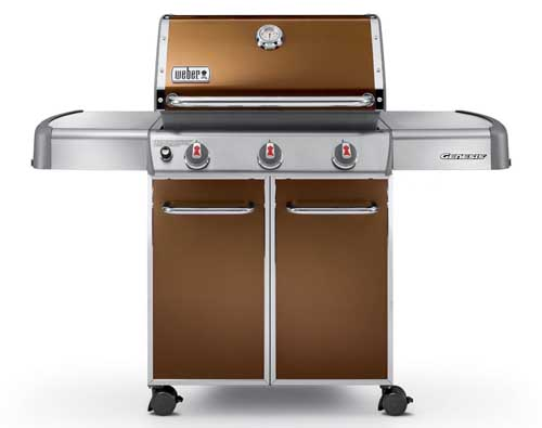 Weber Genesis 6512001 E-310 Copper | Foodal.com