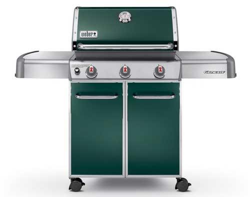 Weber Genesis 6517001 E-310 Green | Foodal.com