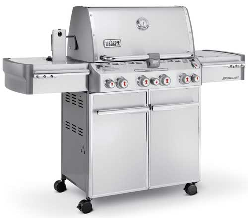 Weber Summit 7170001 S-470 Stainless-Steel 580-Square-Inch 48,800-BTU Liquid-Propane Gas Grill | Foodal.com