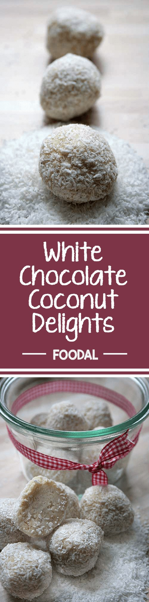 Fancy something a bit sweet every once in awhile? These white chocolate delights are easy to prepare, and they taste delicious. Plus, the coconut coating means these morsels are truly dressed to impress! Whether you want to treat yourself or you're having some friends over for coffee, serve these little goodies to create some sweet moments. Read more on Foodal. https://foodal.com/recipes/desserts/white-chocolate-coconut-delights/