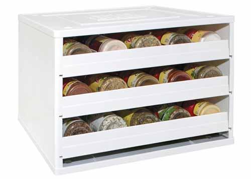 Spice Rack Storage Organizer It Organizes 12 Spice Jars Stick Anywhere New