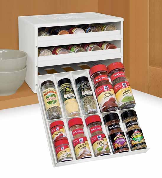 YouCopia Chef's Edition SpiceStack 30-Bottle Spice Organizer | Foodal.com