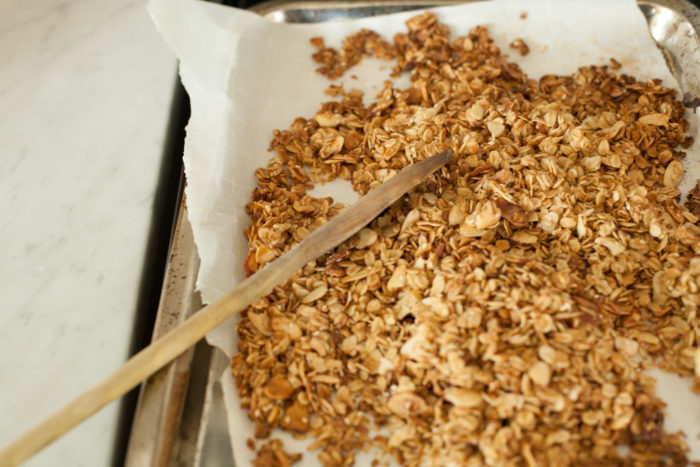 a sweet and simple minimalist granola recipe to have on hand