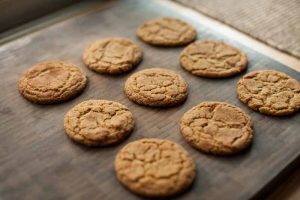 Einkorn Snickerdoodle Cookies With Wholesome Ingredients