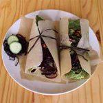 Coconut Beet Noodle Wrap Recipe   Foodal.com