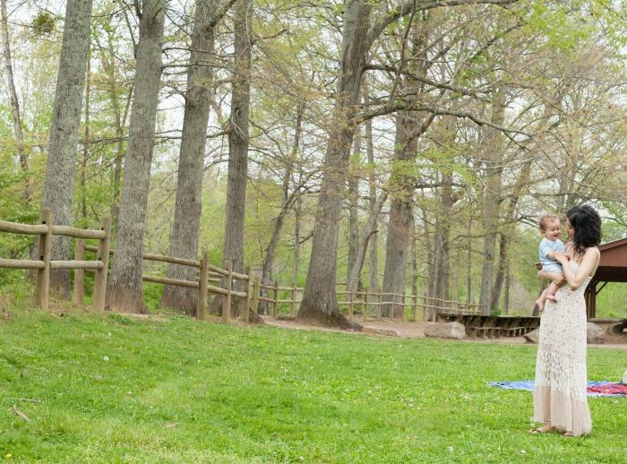 edwin warner park in spring