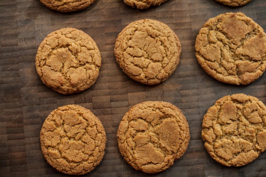 einkorn snickerdoodle cookies-2