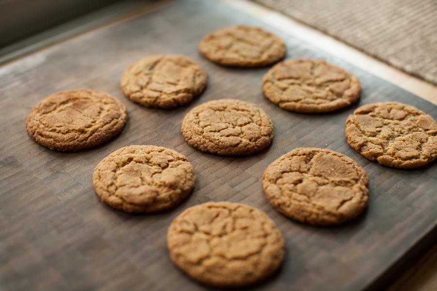einkorn snickerdoodle cookies-3