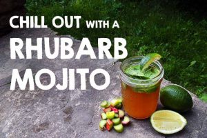 Chill Out With a Rhubarb Mojito