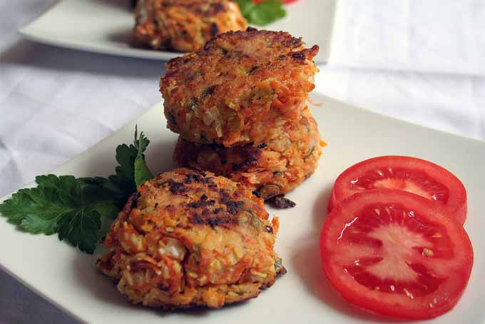 Three Veggie Burger Patties | Foodal.com