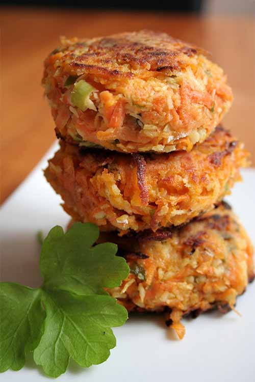 What's for dinner? These savory and satisfying coconut sweet potato patties! Get the recipe now on Foodal: https://foodal.com/recipes/vegetarian-vegan/sweet-potato-coconut-patties/