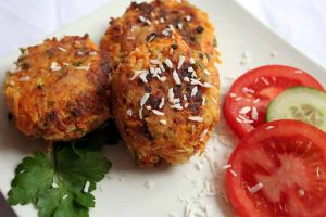Sweet Potato Coconut Patties: A Satisfying Meatless Meal (Vegan Option)