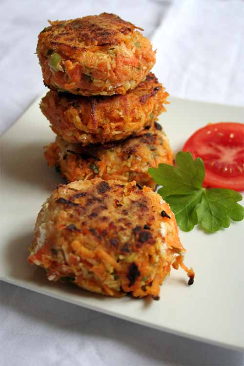 This recipe for coconut sweet potato patties is easy to make at home, and super versatile- serve em up like burgers, atop a salad, or falafel style with all the fixings. Find the recipe here on Foodal: https://foodal.com/recipes/vegetarian-vegan/sweet-potato-coconut-patties/