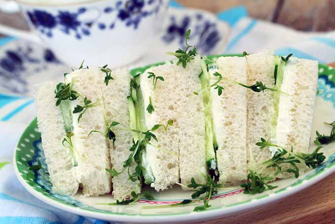 Cucumber Sandwiches and Tea | Foodal.com