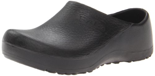 Birkenstock Professional Unisex Profi Birki Slip Resistant Work Shoe in Black | Foodal.com