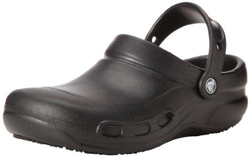 Crocs Unisex Bistro Clog in Black | Foodal.com